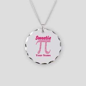 Sweetie Pi Personalized Necklace Circle Charm