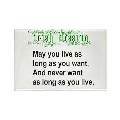 Irish Blessing Rectangle Magnet (100 pack)