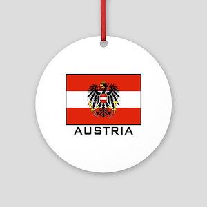 Flag of Austria Ornament (Round)