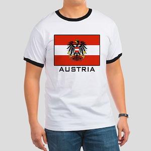 Flag of Austria Ringer T