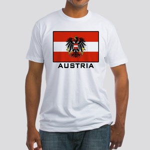 Flag of Austria Fitted T-Shirt