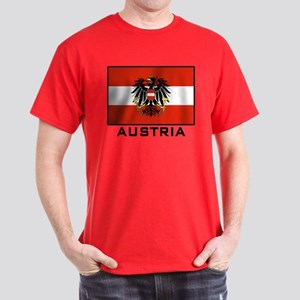 Flag of Austria Dark T-Shirt
