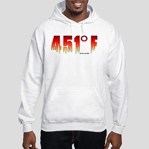 451 Degrees Fahrenheit Hooded Sweatshirt