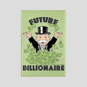 Monopoly Future Billionaire Rectangle Magnet