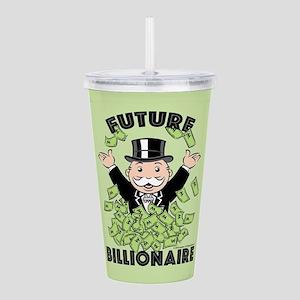 Monopoly Future Billio Acrylic Double-wall Tumbler