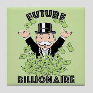 Monopoly Future Billionaire Tile Coaster