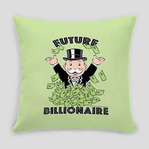 Monopoly Future Billionaire Everyday Pillow