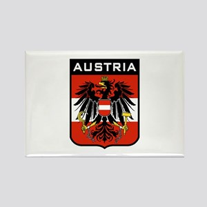 Austria Coat of Arms Rectangle Magnet