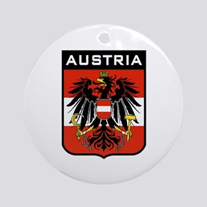 Austria Coat of Arms Ornament (Round)
