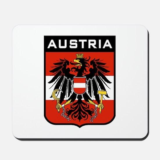 Austria Coat of Arms Mousepad