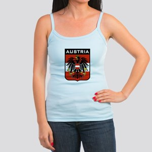 143cba7564c Austria Flag Junior Spaghetti Tanks - CafePress