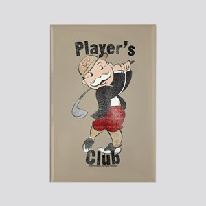 Monopoly Player's Club Rectangle Magnet