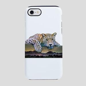 Leopard Double Exposure iPhone 8/7 Tough Case