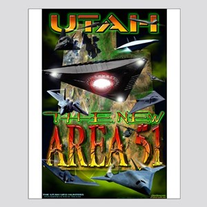 Utah The New Area 51 - 2005 Small Poster