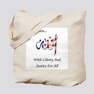A - One nation allah Tote Bag
