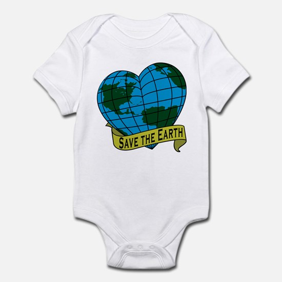 Save the Earth Infant Bodysuit