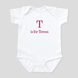 T is for Teresa Infant Bodysuit