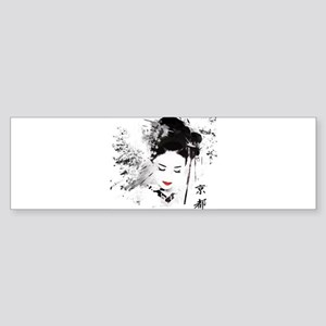 Kyoto Geisha Bumper Sticker