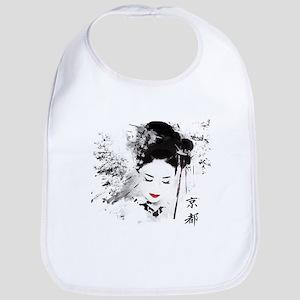 Kyoto Geisha Baby Bib