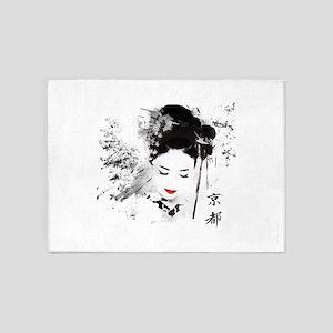 Kyoto Geisha 5'x7'Area Rug