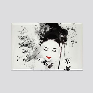 Kyoto Geisha Magnets