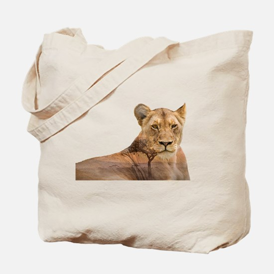 Lion pictures Tote Bag