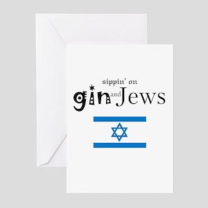GinAndJews Greeting Cards (Pk of 10)