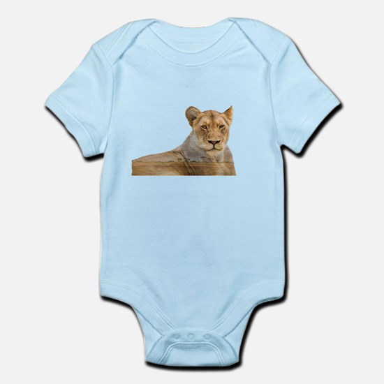 Lioness Double Exposure Body Suit