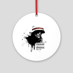 Warsaw Uprising Round Ornament