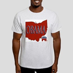 Ohio GOP Obama Light T-Shirt