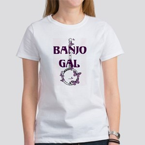 Butterfly Banjo Women's T-Shirt