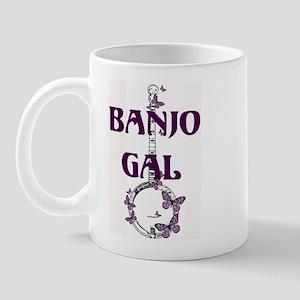 Butterfly Banjo Mug