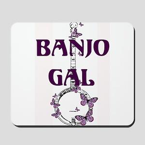 Butterfly Banjo Mousepad