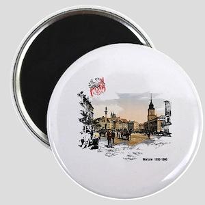 Poland Warsaw Magnets