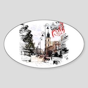 Poland Warsaw Sticker