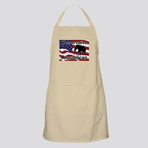 Conservative Republican BBQ Apron
