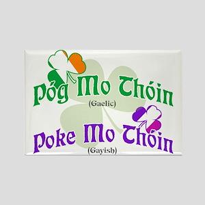 Poke Mo Thoin! Rectangle Magnet