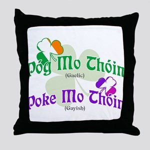 Poke Mo Thoin! Throw Pillow