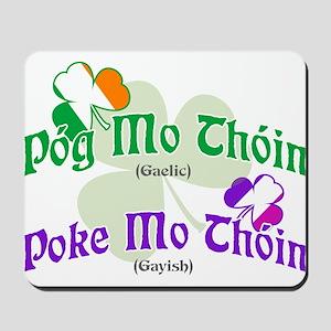 Poke Mo Thoin! Mousepad