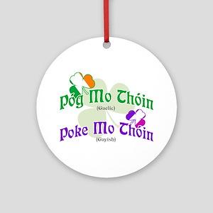 Poke Mo Thoin! Ornament (Round)