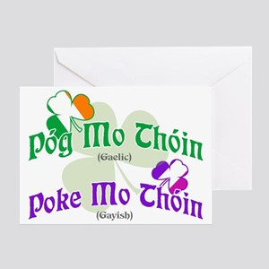 Poke Mo Thoin! Greeting Card