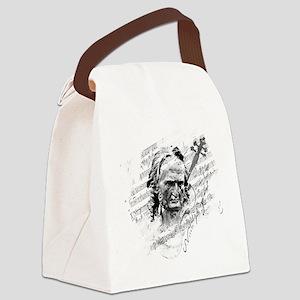 Paganini Violin Canvas Lunch Bag