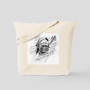 Paganini Violin Tote Bag