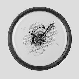 Paganini Violin Large Wall Clock