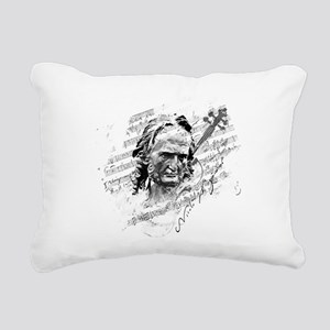 Paganini Violin Rectangular Canvas Pillow