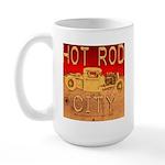 HOT ROD CITY Large Mug