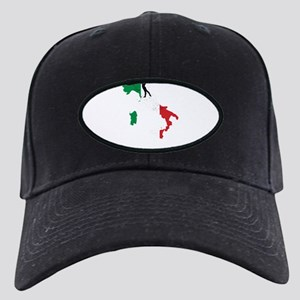 Italian Gymnastics Gifts For Black Cap with Patch