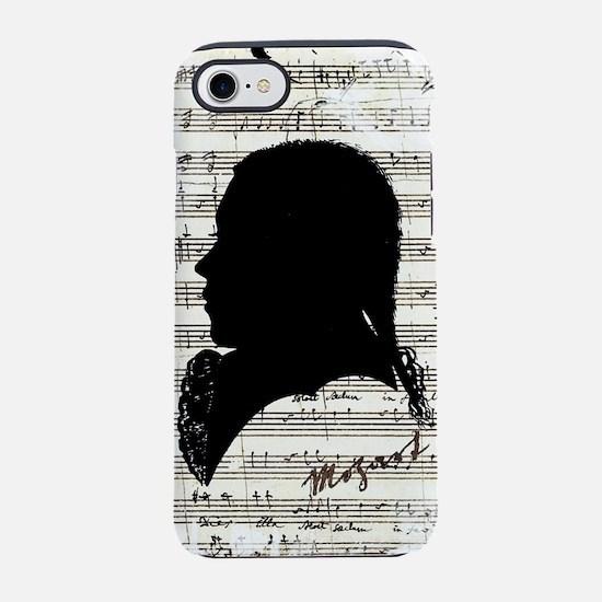 Wolfgang Amadeus Mozart iPhone 8/7 Tough Case