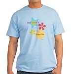 A Hip Hapa In A Light T-Shirt