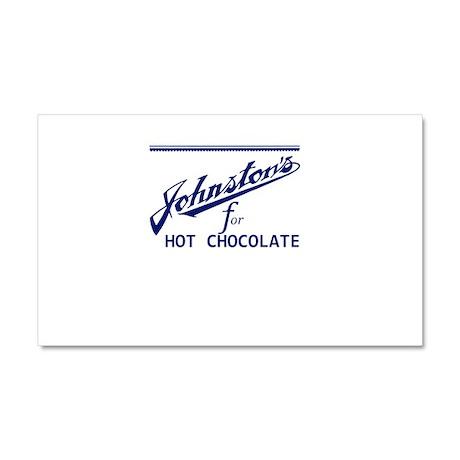 Johnston's Chocolate Milwaukee Car Magnet 20 x 12